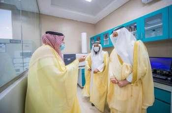 سمو أمير منطقة القصيم يدشن مشروع مستشفى الإبل الأكبر على مستوى العالم