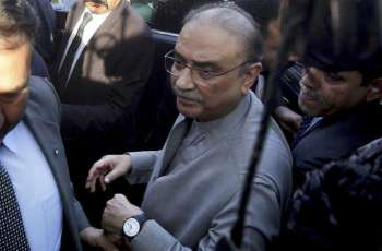 NAB court once again postpones Zardari's indictment in Park Lane reference