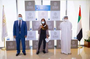 Dubai Sports Council honours winners of Pocari Sweat 19K Run