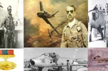 Birth anniversary of 1965 War Hero M. M. Alam being observed today
