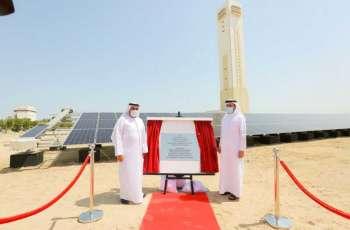 مجموعة دوكاب تفتتح محطتها الجديدة للطاقة الشمسية في منطقة جبل علي