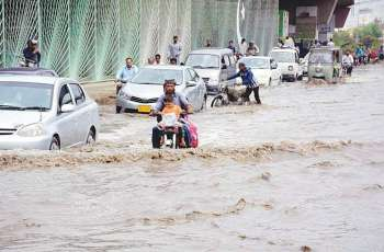 Met Office forecast more rain in Karachi tonight