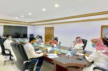 رئيس بلدية روضة هباس يتفقد مشروع المجلس البلدي والبلدية برفقة الـ PMO ويشدد على الإنجاز والجودة