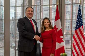 Pompeo, Freeland Discuss Shared Concerns About Chinese Government's Actions - State Dept.