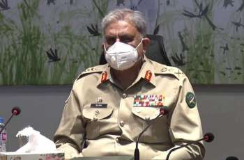 Chief of Army Staff General Bajwa visits Peshawar Corps Headquarters