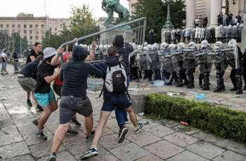 Serbian Defense Minister Says Unrest in Country Attempt to Start Civil War