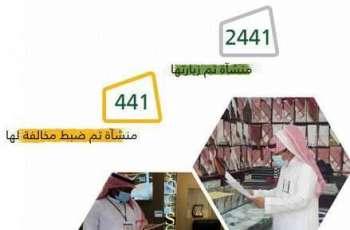 2441 جولة تفتيشية لفرع وزارة الموارد البشرية بمنطقة مكة المكرمة