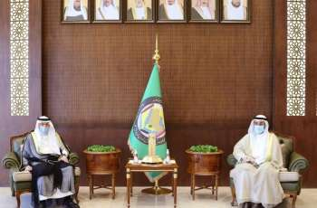Al-Othaimeen Meets GCC Secretary General