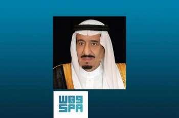خادم الحرمين الشريفين يعزي حاكم الشارقة في وفاة الشيخ أحمد بن سلطان القاسمي