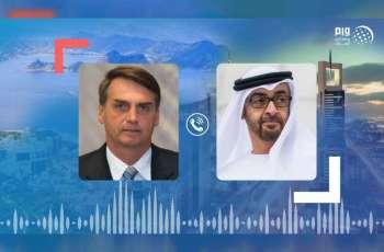 Mohamed bin Zayed receives Brazilian President's phone call