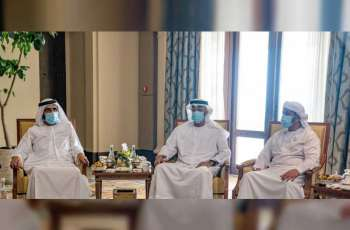 Mohammed bin Rashid meets with Mohamed bin Zayed