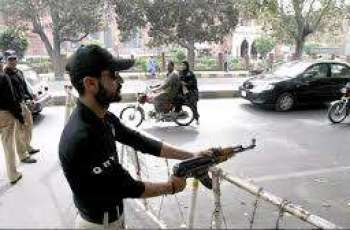Unknown men attack policeman in Karachi's Korangi 5