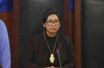 Bolivian Senate President Monica Eva Copa Says Tested Positive for COVID-19