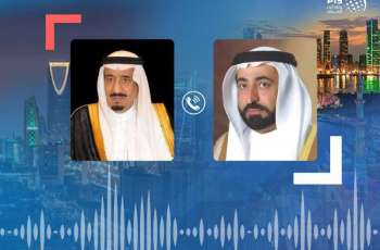 Sharjah Ruler receives condolences from King Salman on death of Sheikh Ahmed bin Sultan Al Qasimi