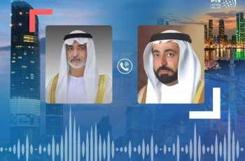 Sharjah Ruler receives Nahyan bin Mubarak's condolences