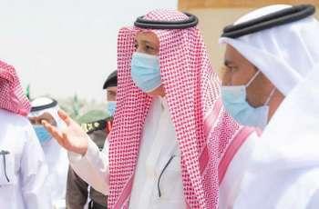 سمو الأمير حسام بن سعود يتفقد عدداً من المواقع السياحية بمحافظة ببلجرشي