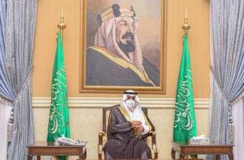 سمو أمير تبوك يستقبل مسؤولي الإدارات الحكومية وجمعاً من أهالي المنطقة