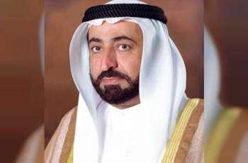 حاكم الشارقة يتلقى برقية تعزية من سلطان بن سلمان آل سعود بوفاة الشيخ أحمد بن سلطان القاسمي
