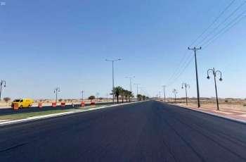 بلدية محافظة ضرية تنفذ عدداً من المشروعات الخدمية بالمحافظة والمراكز التابعة لها