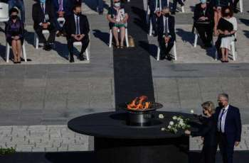 Spain Pays Tribute to COVID-19 Victims in Solemn Ceremony in Madrid
