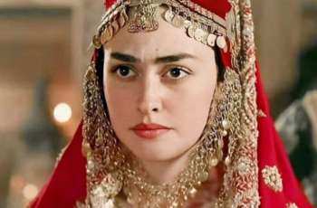 Turkish actress Esra Bilgic finds no. 1 in Pakistan