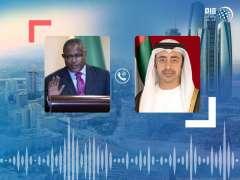 """عبدالله بن زايد ووزير خارجية إثيوبيا يبحثان هاتفيا علاقات الصداقة وجهود مكافحة """"كوفيد - 19"""""""