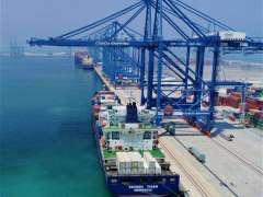 """""""سفين تايغر"""" تصل إلى ميناء خليفة في رحلتها الأولى ضمن خدمة الربط الخليجي الآسيوي"""