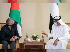 Mohamed bin Zayed, King Abdullah of Jordan discuss advancing relations, review regional developments