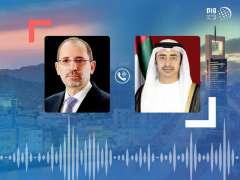 Abdullah bin Zayed, Jordanian FM discuss regional developments, bilateral relations