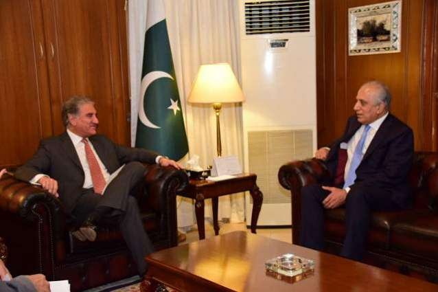 US' Khalilzad Discusses Afghan Peace, Refugees With Top Pakistani Diplomat - Source