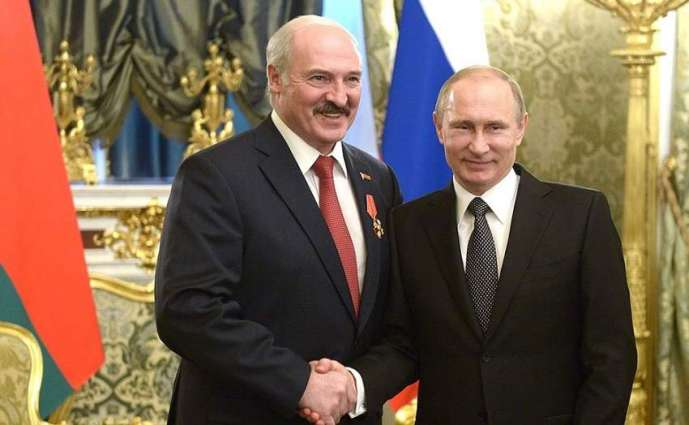 Putin Congratulates Lukashenko on Belarus' Independence Day