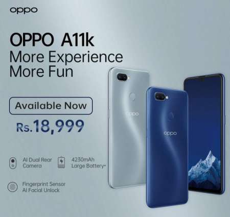 OPPO Launches the Stellar More Fun, More Experience OPPO A11K – A Budget Friendly Smartphone