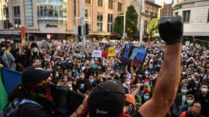 Thousands Take Part in Protests Against Racial Inequality Across Australia - Reports