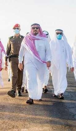 الأمير فيصل بن مشعل يزور محافظة الرس ويتفقد مشروع مستشفى الولادة والأطفال ونادي الطيران السعودي