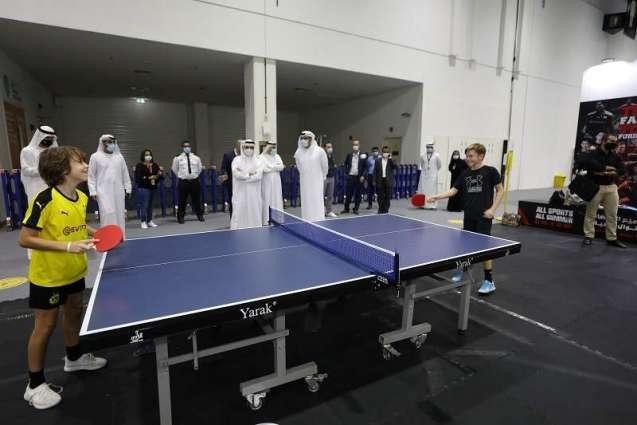 Dubai Sports World Marks Official Opening At Dubai World Trade Centre
