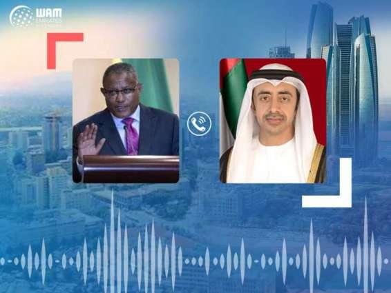 Abdullah bin Zayed, Ethiopian FM discuss bilateral ties, global fight against COVID-19
