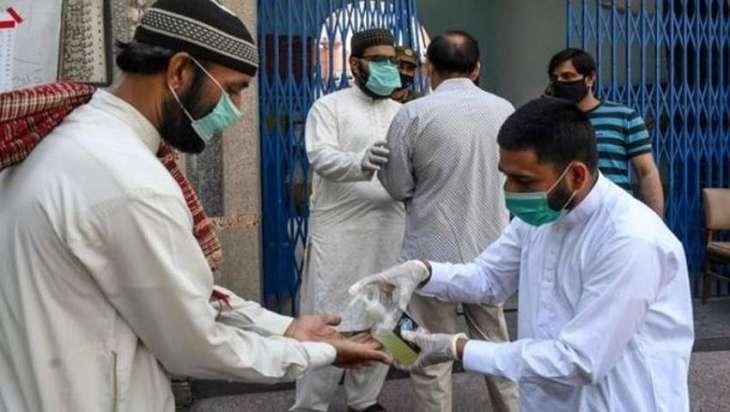 ارتفاع حصیلة الاصابات بفیروس کورونا الي 239729 حالة في باکستان
