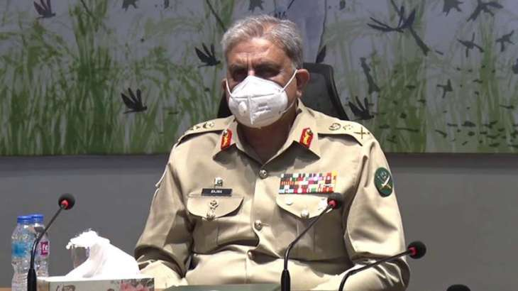 Chief of Army Staff General Bajwa visits Peshawar Corps Headquarters