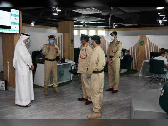 """قائد شرطة دبي يطلع على مشروع """" التحول الإلكتروني للملف الجنائي في نظام الخدمة الموحد"""""""