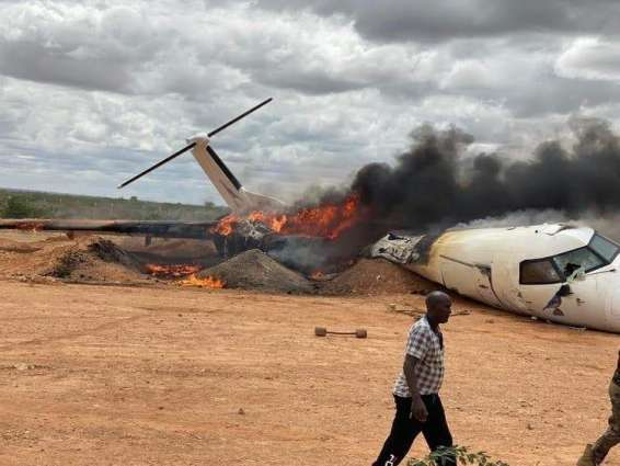 African Union Cargo Plane Carrying Food, Medicine Crashes in Central Somalia - Reports