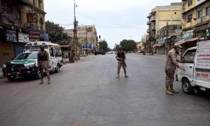 Sindh govt extends lockdown in Karachi till August 15