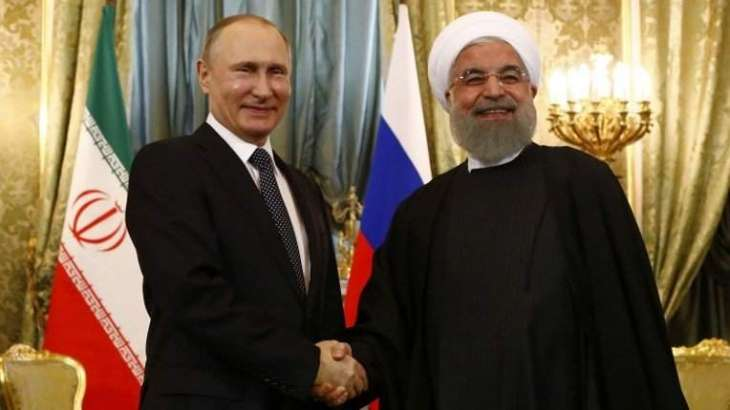 Rouhani, Putin Discuss Iran-Turkey-Russia Cooperation on Syria in Astana Format - Office