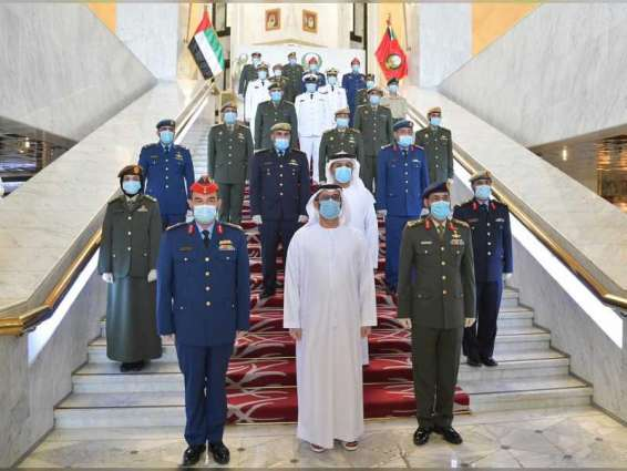 UAE Armed Forces honour winners of Armed Forces Excellence and Innovation Award