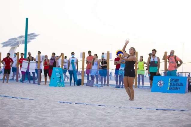 Henrique Luvannor turns up at Kite Beach to support Dubai Sports Council's Beach Sports Week