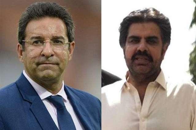 Nasir Shah slams former fast bowler Wasim Akram over flooding situation in Karachi