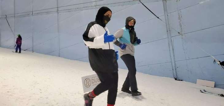 Dubai makes the impossible possible with Snow Run in peak desert summer