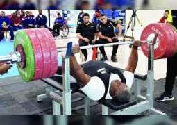 """البطل الأولمبي محمد خميس لـ""""وام"""": هدفي أن أكون """" الرقم الصعب"""" في أولمبياد طوكيو"""