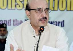 High time to realize dangers to Pakistan's existence: AJK president