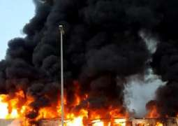 Massive Fire in UAE Market Taken Under Control, No Casualties - Reports