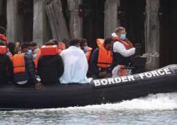 UK to Address Migrants Issue with France after Surge in English Channel Crossings